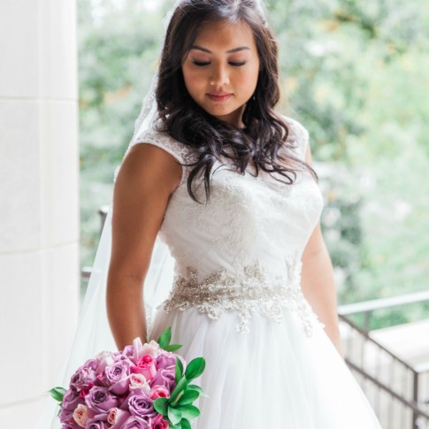 Atlanta wedding photographers bride portraits