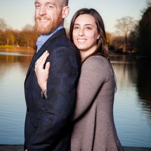 Engagement photography with Gary Lun at Piedmont Park Atlanta