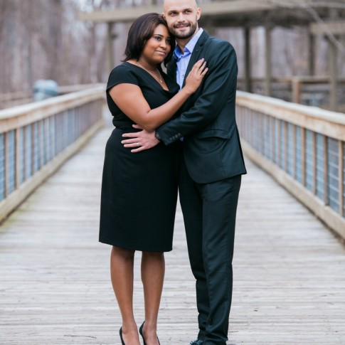 Engagement session at McDaniel Farm Park Atlanta