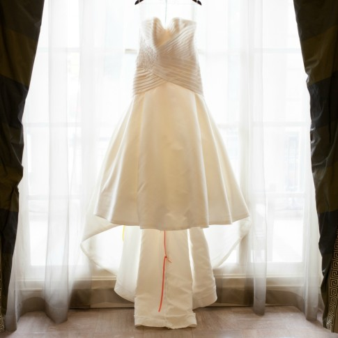 Wedding dress at Biltmore Atlanta