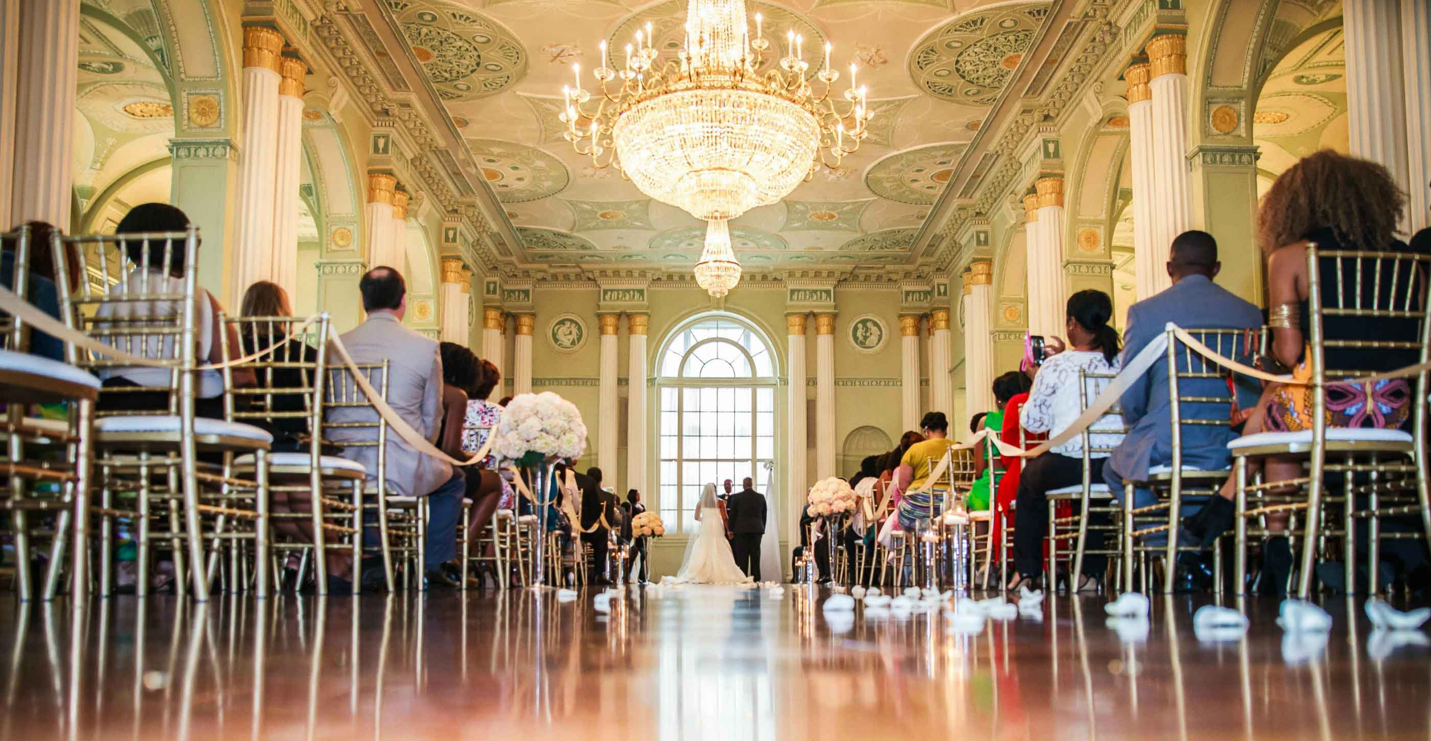 Atlanta Biltmore wedding ceremony by Gary Lun Photography