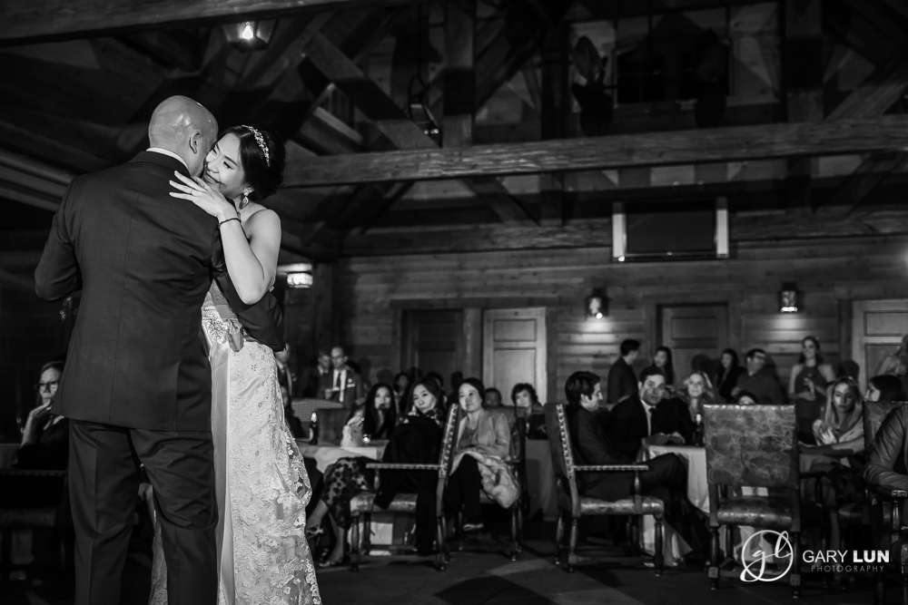 The River Club Suwanee Wedding first dance black and white