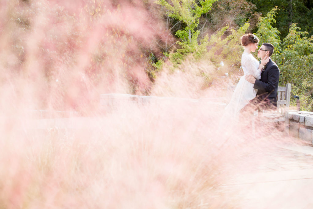 UGA State Botanical Garden wedding portraits by Gary Lun Photography