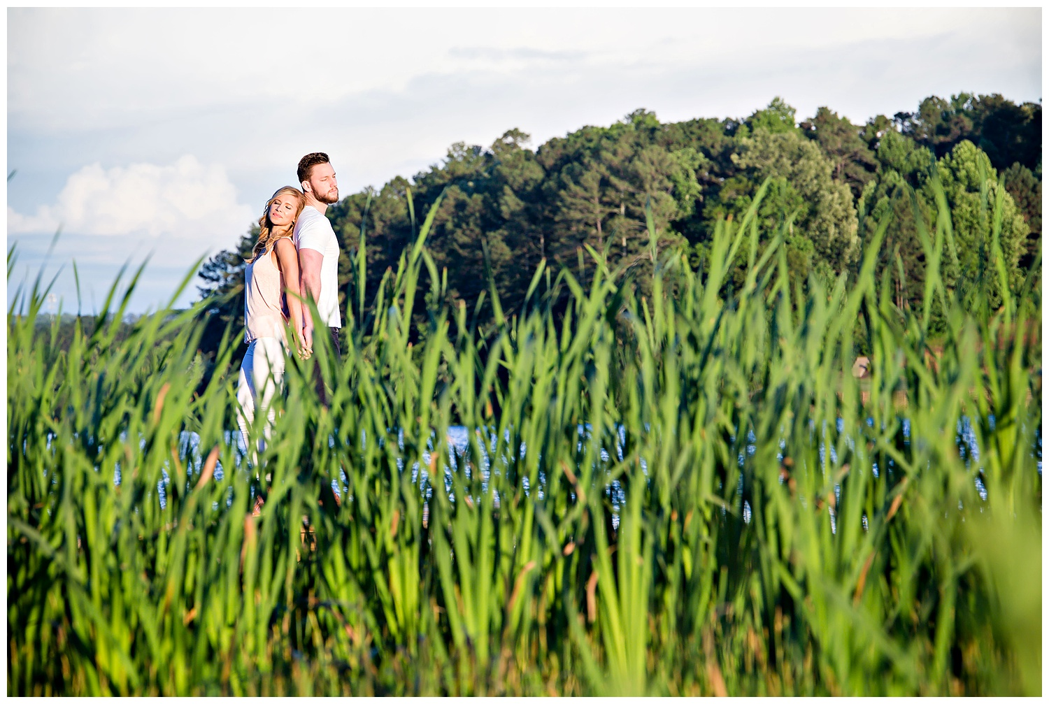 Lake Acworth engagement session with Gary Lun Photography