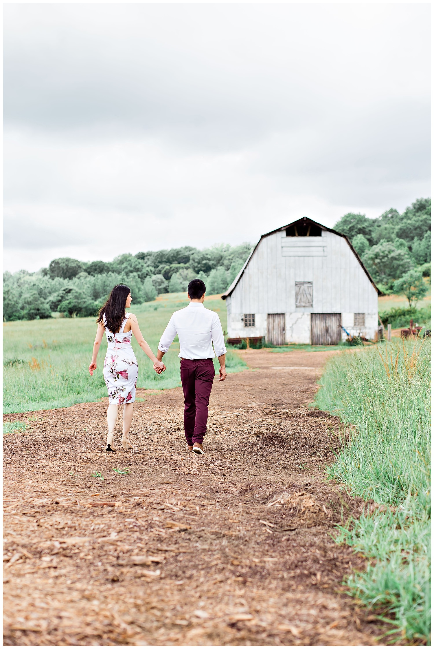 Arabia Mountain Vaughter farm engagement session with Gary Lun Photography